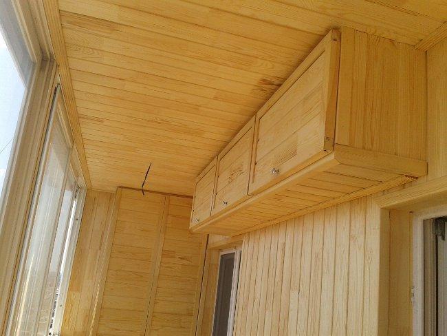 обшивка балкона вагонкой дешево