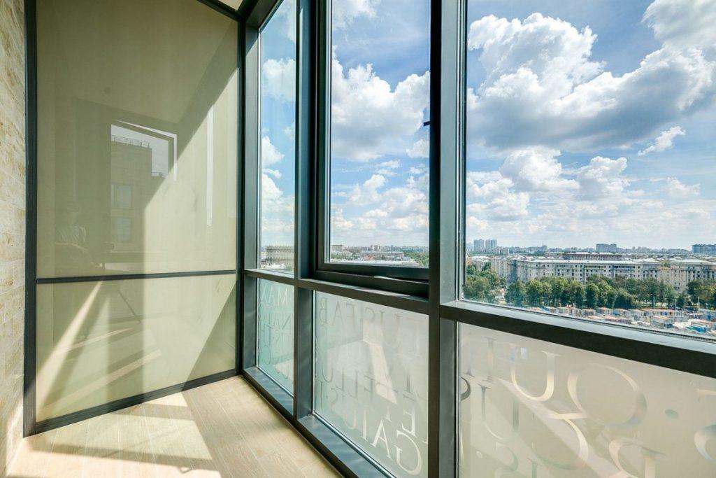 Окна в пол, Века Пролайн (Veka Proline), остекление в квартире