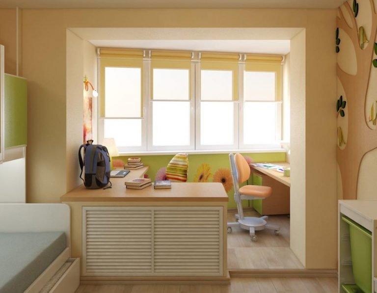 объединение балкона с комнатой в панельном доме