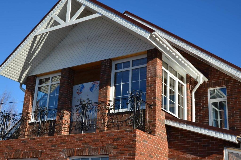 Остекление частных домов цена под ключ