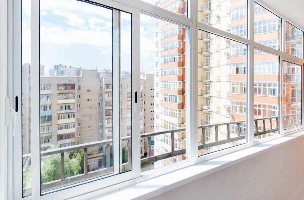 Раздвижное остекление балконов
